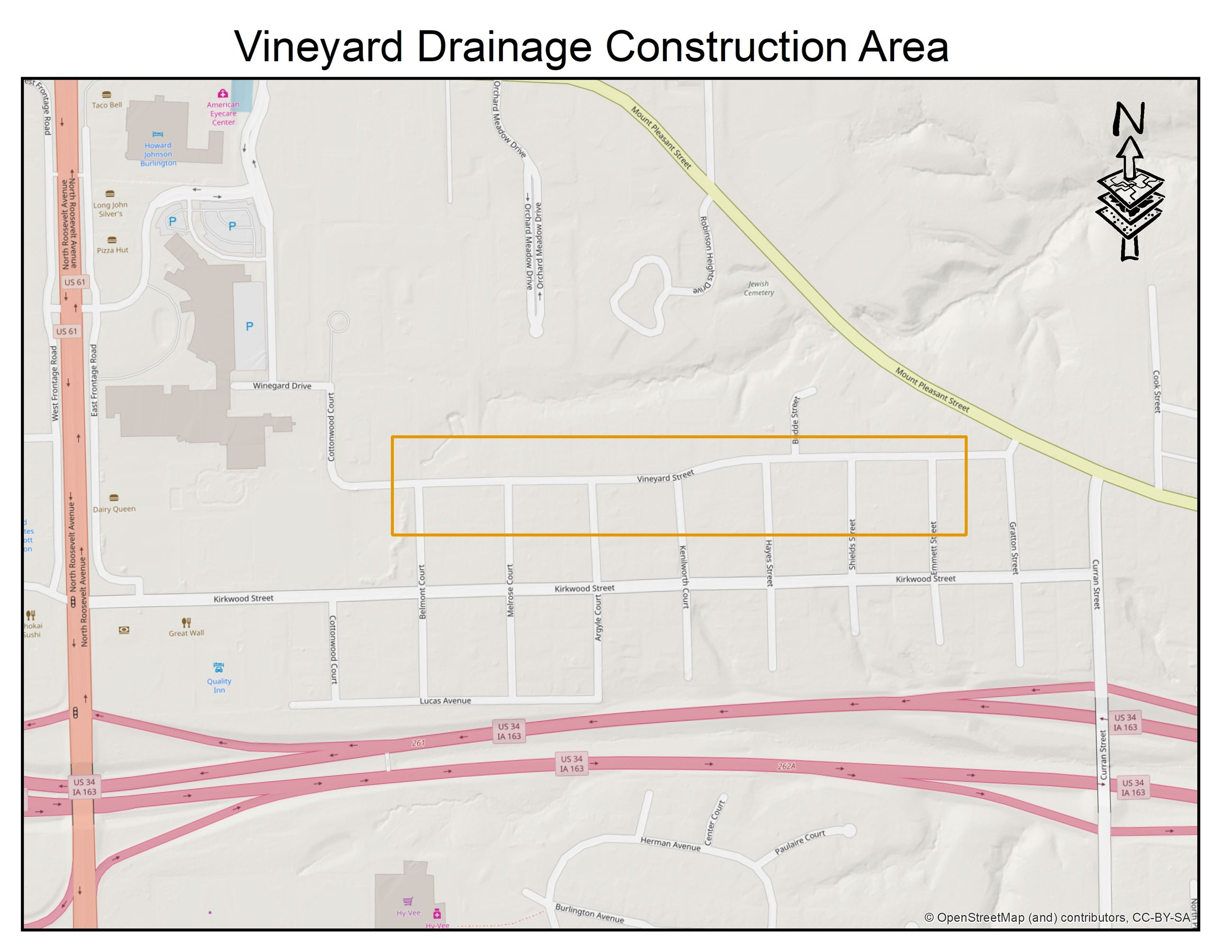 Vineyard Drainage Project