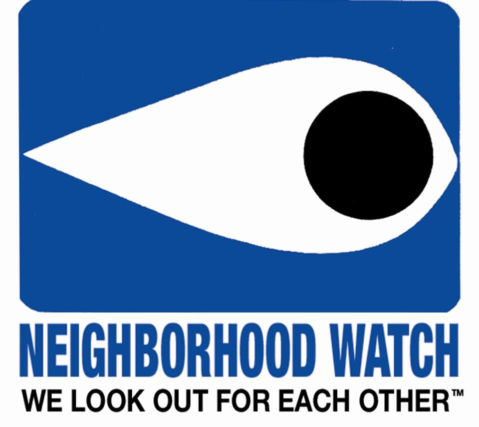 Neighborhood Watch We Look out for Each Other