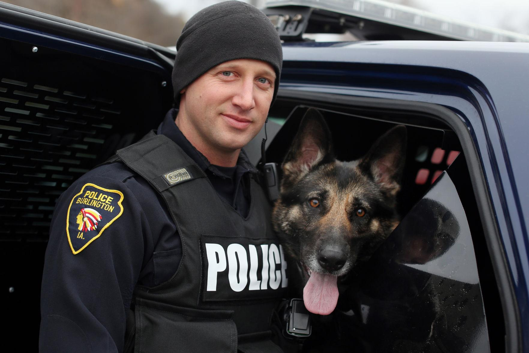 Police Officer with K9