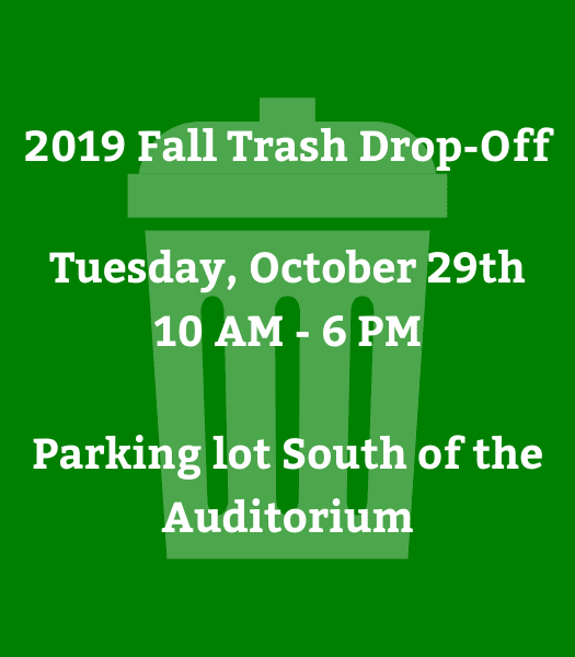 2019 Fall Trash Drop-Off