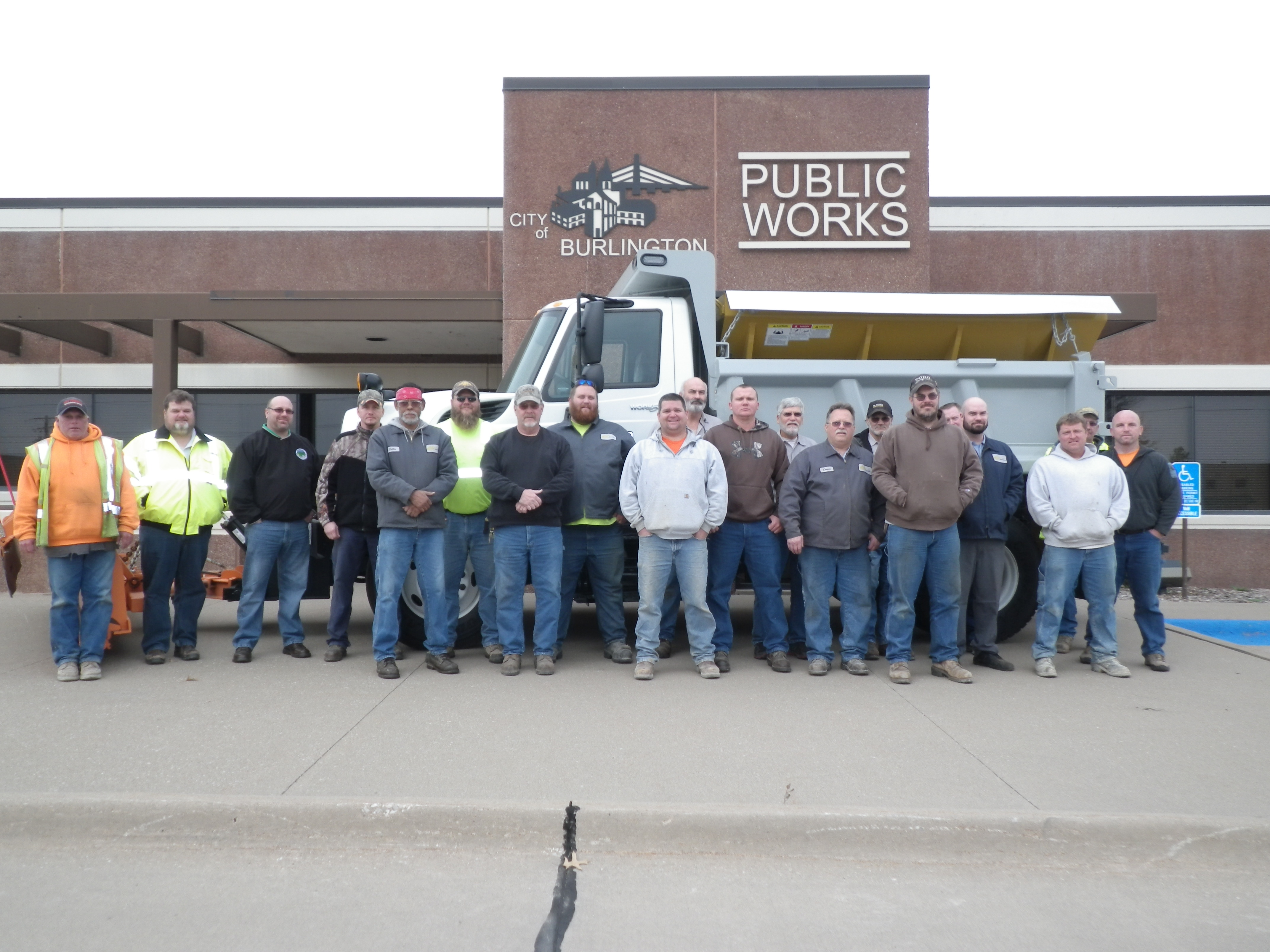 Public Works Department Group Photo