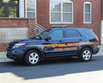 Burlington Police Department SUV